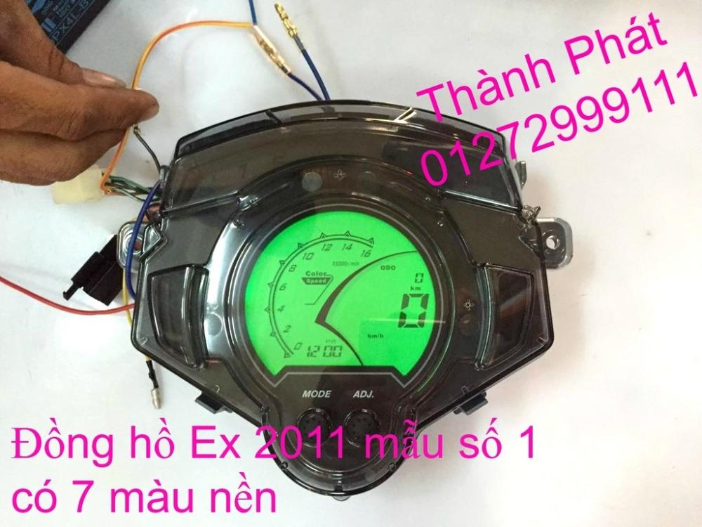 Do choi Exciter 150 tu A Z Po do Chan bun sau kieng kieu Bao tay Tay thang Xinhan kieu S - 37
