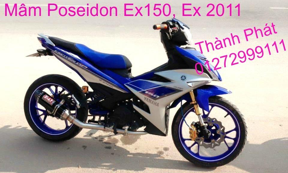 Do choi Exciter 150 tu A Z Po do Chan bun sau kieng kieu Bao tay Tay thang Xinhan kieu S - 30