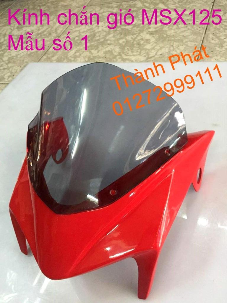 Do choi Honda MSX 125 tu A Z Po do Kinh gio Mo cay Chan bun sau de truoc Ducati Khung suo - 7