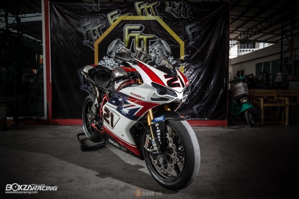 Ducati 1098R phien ban gioi han Troy Bayliss do sieu khung tu JC Superbike - 5