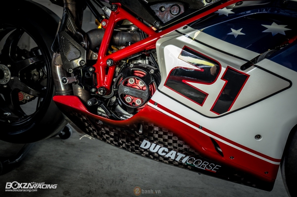 Ducati 1098R phien ban gioi han Troy Bayliss do sieu khung tu JC Superbike - 4