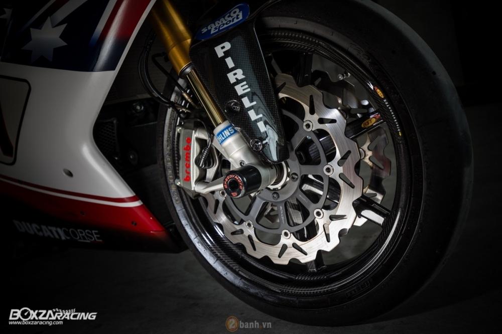 Ducati 1098R phien ban gioi han Troy Bayliss do sieu khung tu JC Superbike - 19