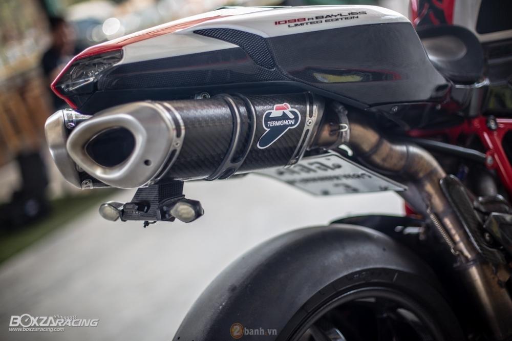Ducati 1098R phien ban gioi han Troy Bayliss do sieu khung tu JC Superbike - 25