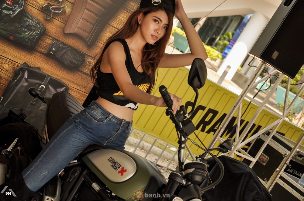 Ducati Scrambler noi bat day phong cach tai Viet Nam Motorcycle Show 2016 - 3