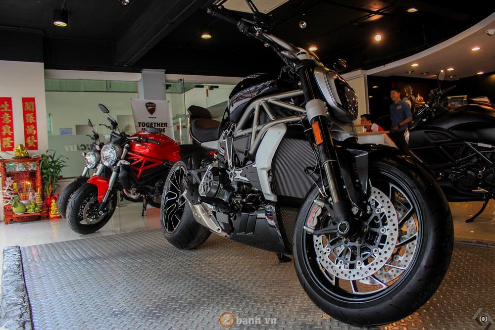 Ducati XDiavel S 2016 nhan giai thuong thiet ke dep nhat the gioi
