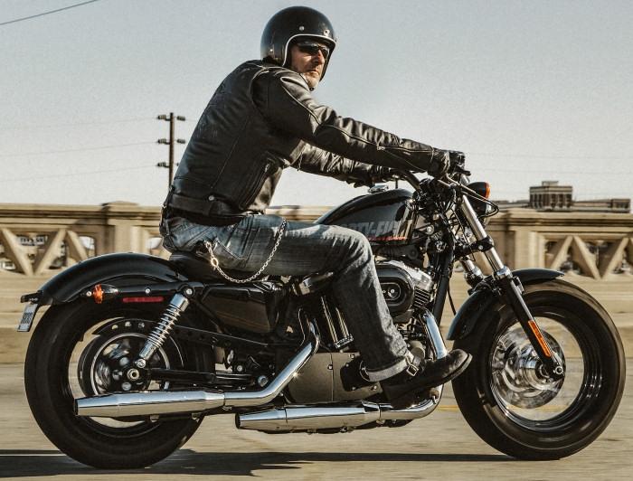 Harley Iron883 2015 Forty Eight 2015 khuyen mai lon - 3