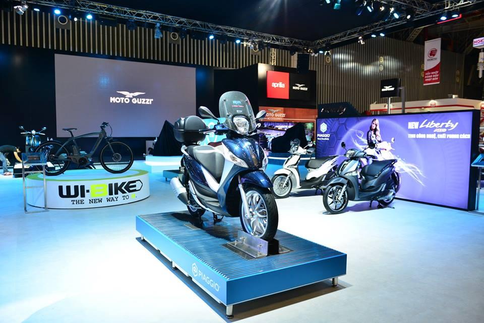 Hinh anh cua Piaggio Viet Nam tai Trien Lam Moto Xe May Viet Nam 2016 - 4