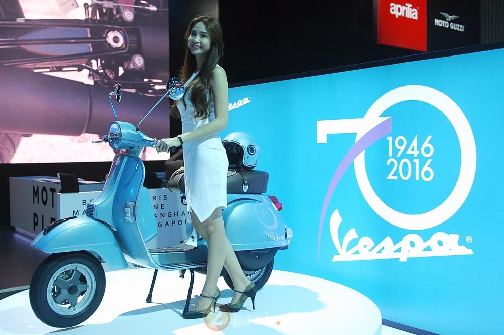 Hinh anh cua Piaggio Viet Nam tai Trien Lam Moto Xe May Viet Nam 2016 - 11