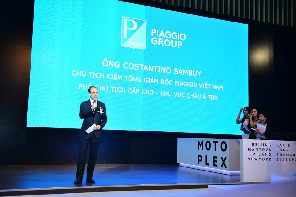 Hinh anh cua Piaggio Viet Nam tai Trien Lam Moto Xe May Viet Nam 2016 - 2