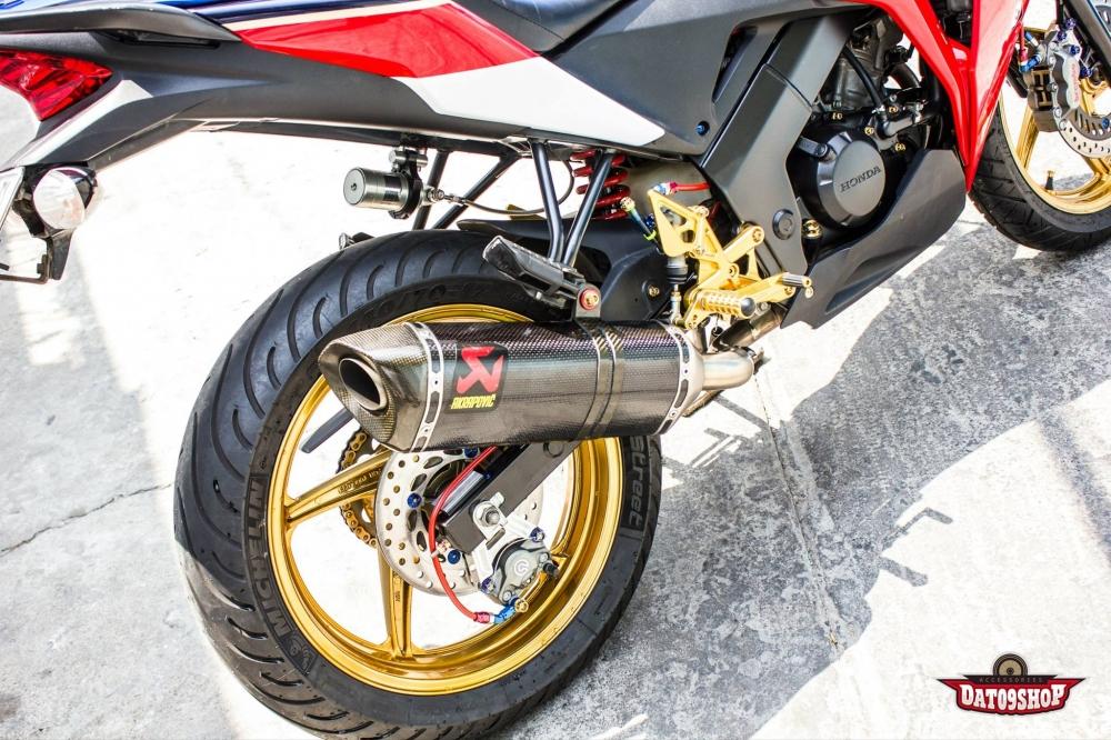 Honda CBR150 do day phong cach cua biker Viet - 10