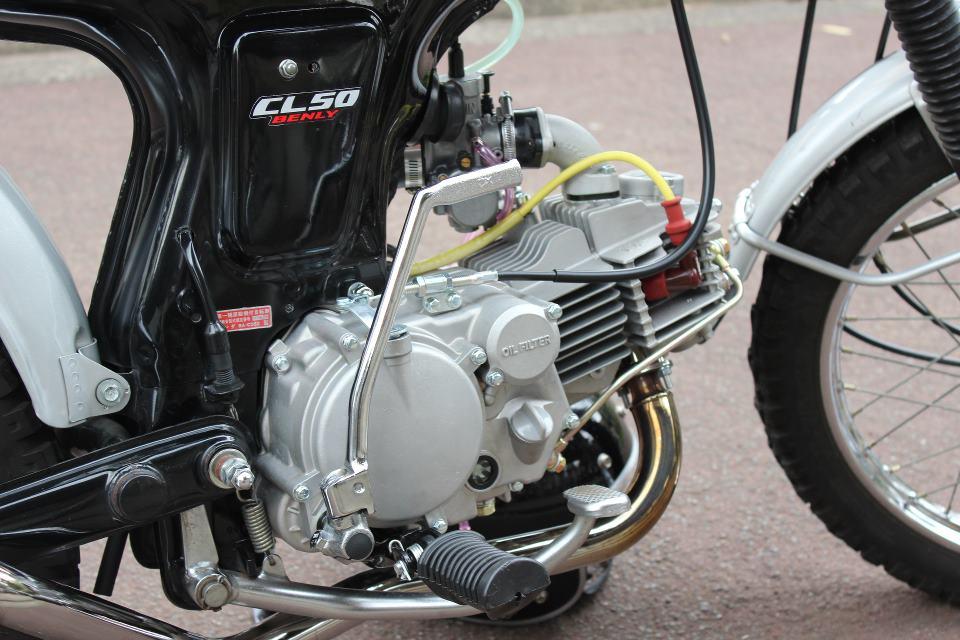 Honda CL 50 net dep den tu nhung gi don gian nhat - 4