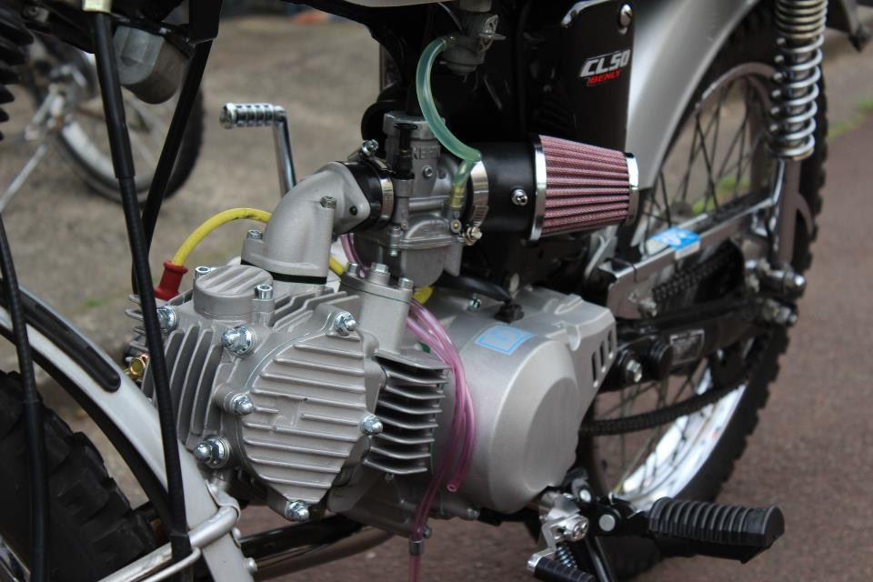 Honda CL 50 net dep den tu nhung gi don gian nhat - 9