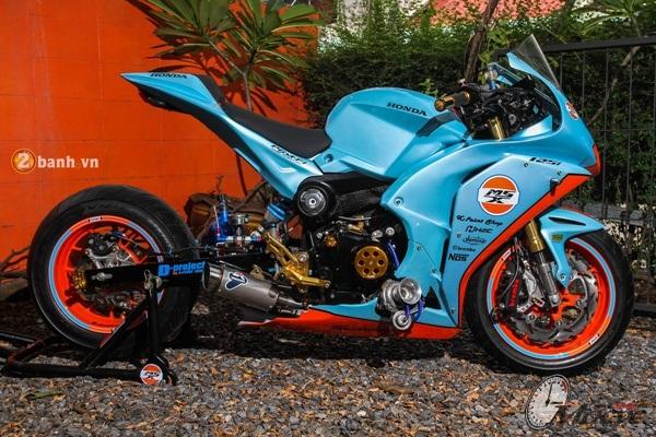 Honda MSX do doc dao voi phien ban Sportbike CBR