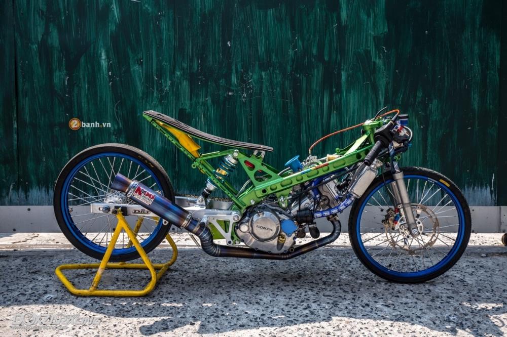 Honda Sonic do dam chat phong cach dragbike doc dao