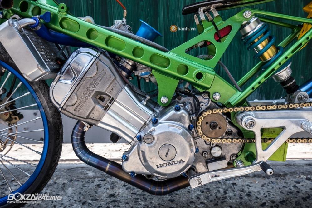 Honda Sonic do dam chat phong cach dragbike doc dao - 11