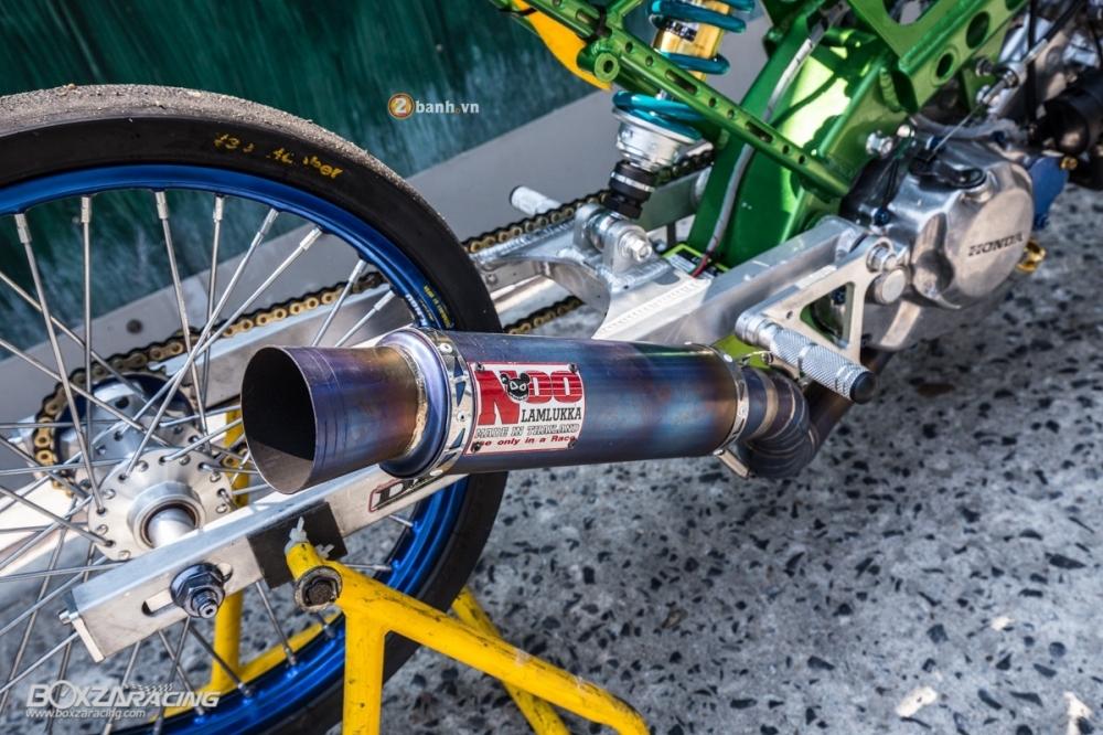 Honda Sonic do dam chat phong cach dragbike doc dao - 15