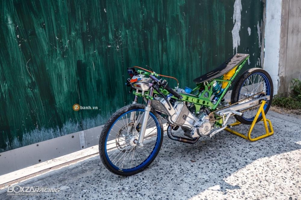 Honda Sonic do dam chat phong cach dragbike doc dao - 16