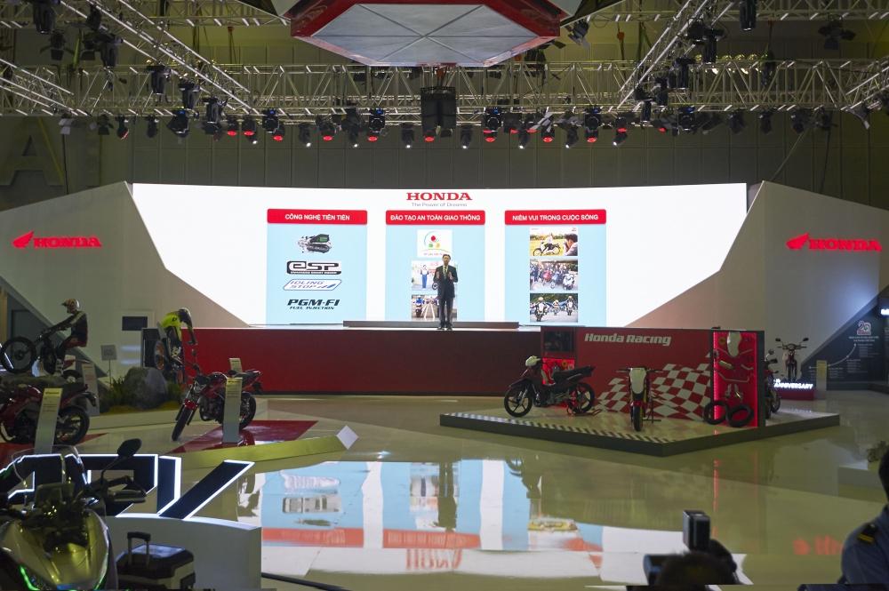 Honda Viet Nam cung hang loat mau xe dinh dam tai Vietnam Motorcycle Show 2016
