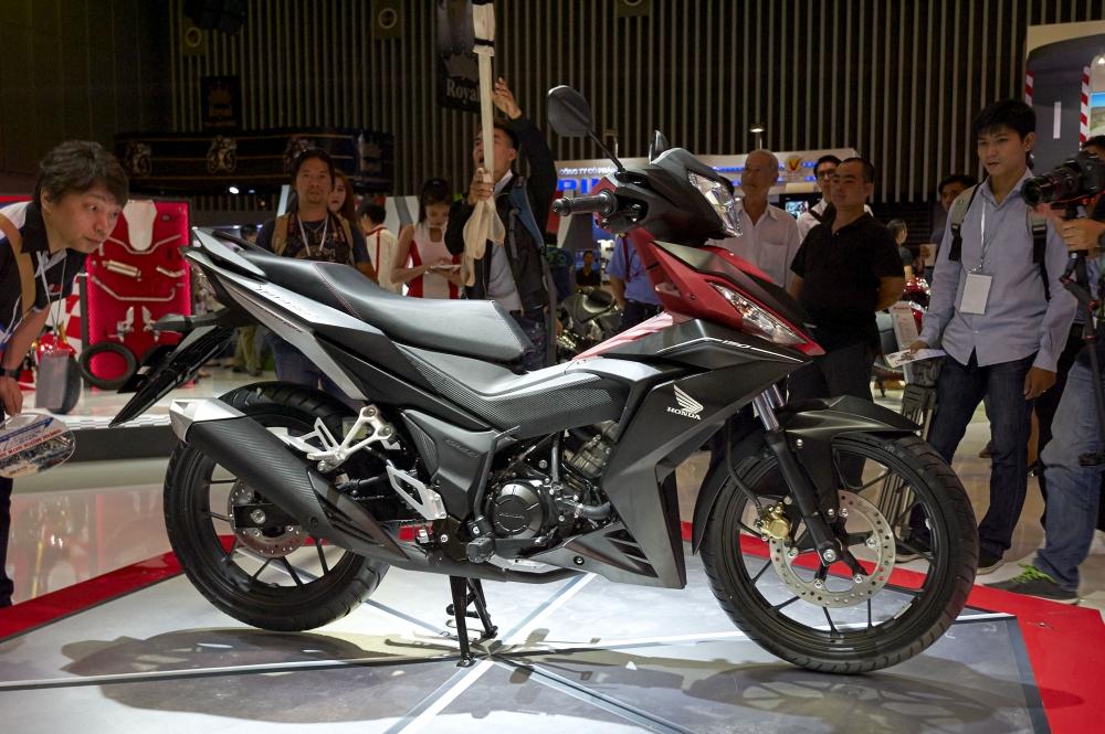 Honda Viet Nam cung hang loat mau xe dinh dam tai Vietnam Motorcycle Show 2016 - 3