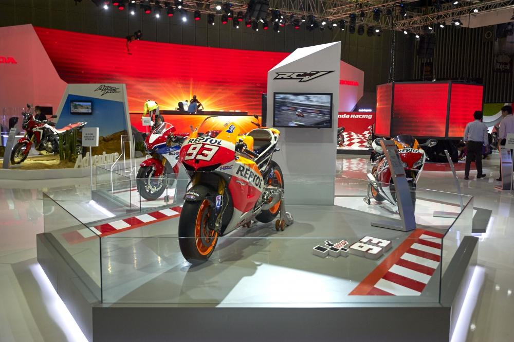 Honda Viet Nam cung hang loat mau xe dinh dam tai Vietnam Motorcycle Show 2016 - 7
