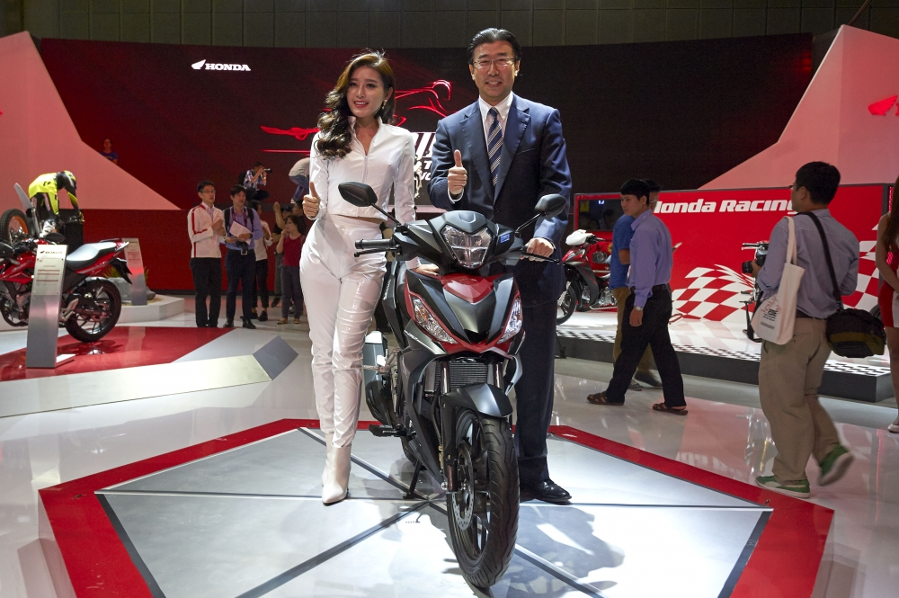 Honda Viet Nam cung hang loat mau xe dinh dam tai Vietnam Motorcycle Show 2016 - 10