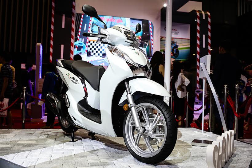 Honda Viet Nam cung hang loat mau xe dinh dam tai Vietnam Motorcycle Show 2016 - 12