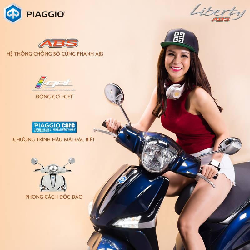 Huong dan thu tuc tra gop xe Piaggio Liberty ABS lai suat uu dai nhat