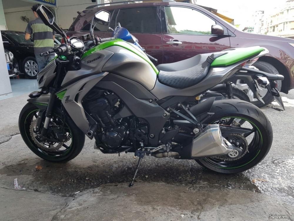 Kawasaki Z1000 sx 122015 mau xam xanh moi 999 - 5