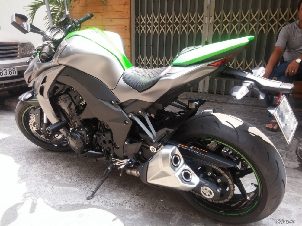 Kawasaki Z1000 sx 122015 mau xam xanh moi 999 - 6