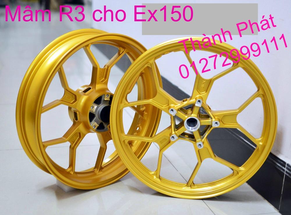 Do choi Exciter 150 tu A Z Po do Chan bun sau kieng kieu Bao tay Tay thang Xinhan kieu S - 14