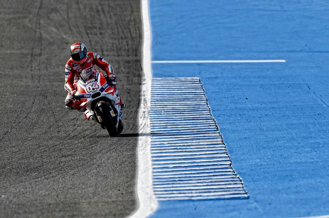 Moto GP Tay dua cua Ducati chua bao gio cam thay be tac nhu luc nay