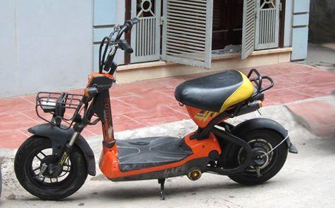 Mua ban xe dien cu Ninja M133 Mocha Xmen Yamaha 094 444 5733