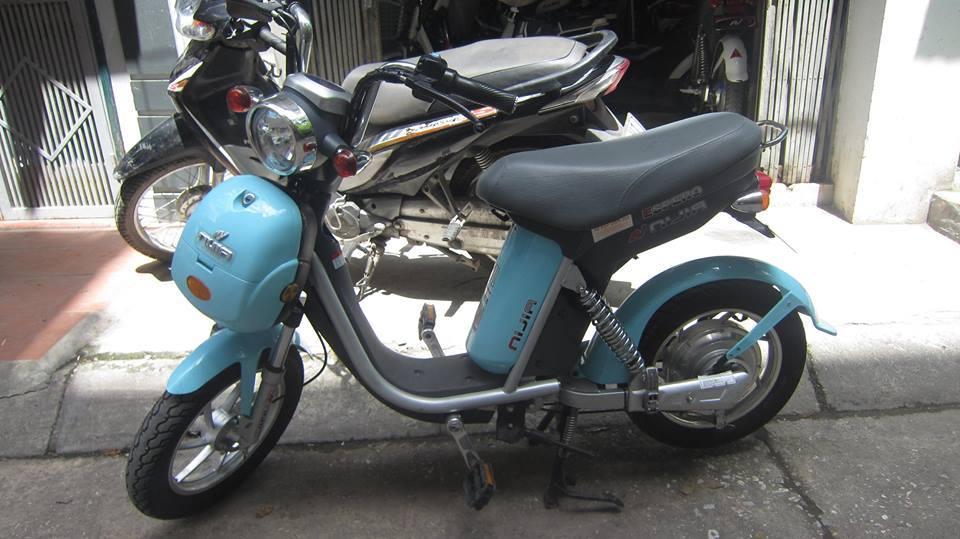 Mua ban xe dien cu Ninja M133 Mocha Xmen Yamaha 094 444 5733 - 2