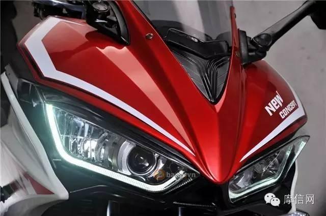 XGJAO RZ35 Dua Con Lai cua Yamaha R3