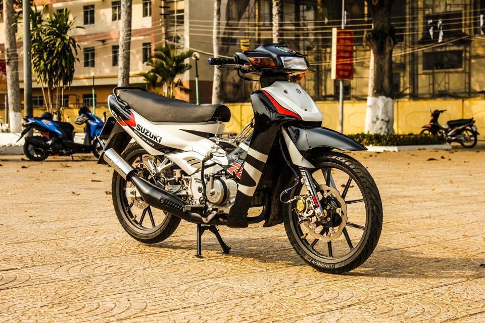 Suzuki Satria 120R do cuc chat cua dan choi Viet