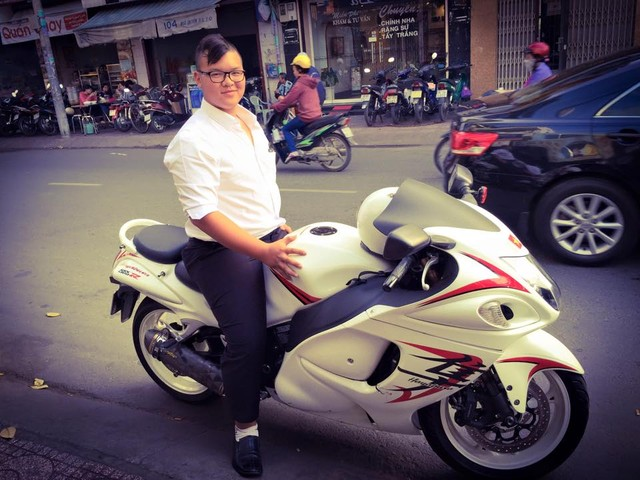 Thu choi xe phan khoi lon doc la cua biker 1996 - 6