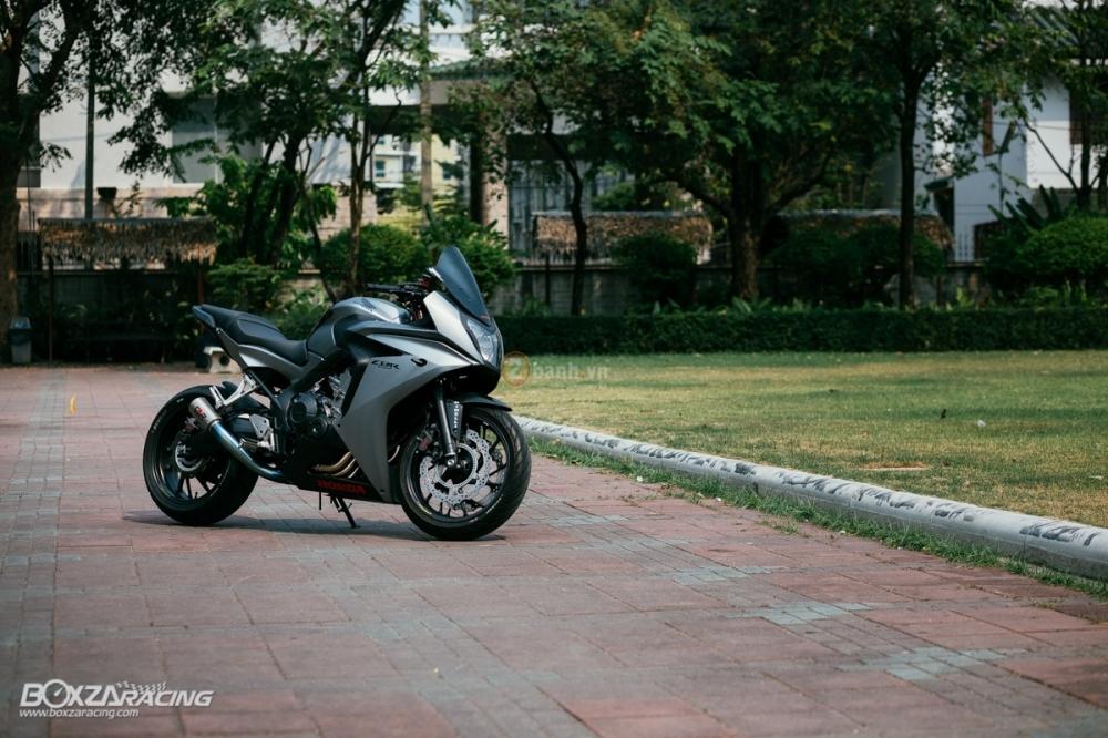 Ve dep sieu ngau cua chiec Honda CBR650F do tai Thai Lan