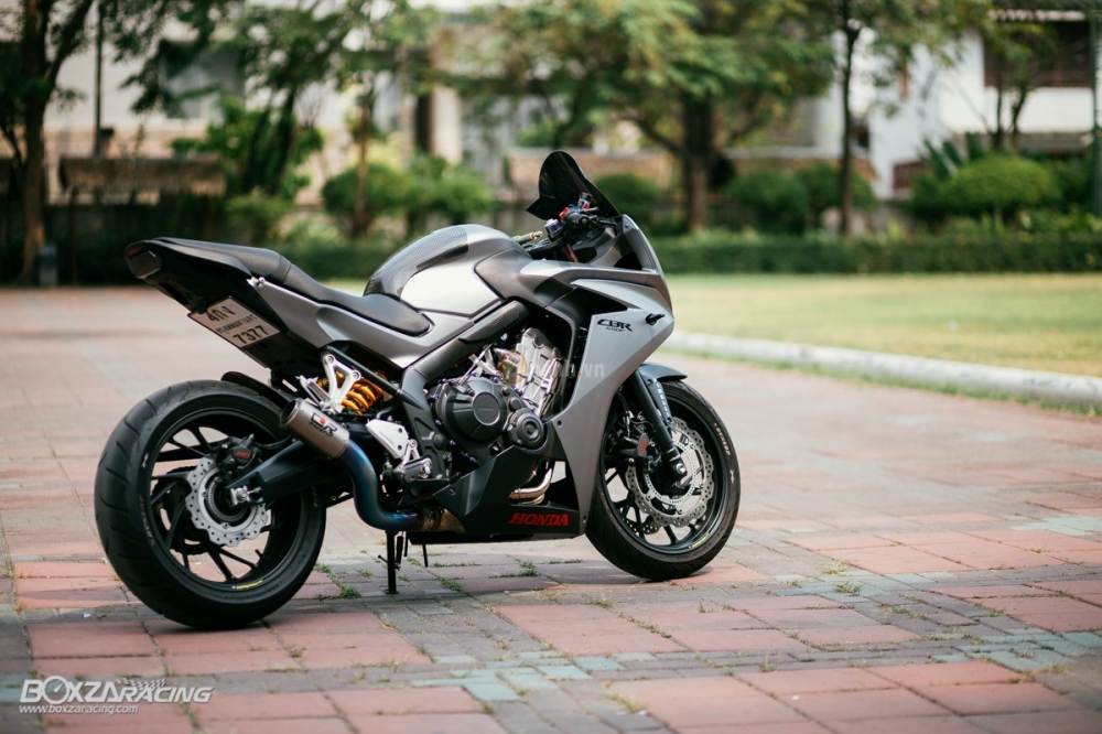 Ve dep sieu ngau cua chiec Honda CBR650F do tai Thai Lan - 16