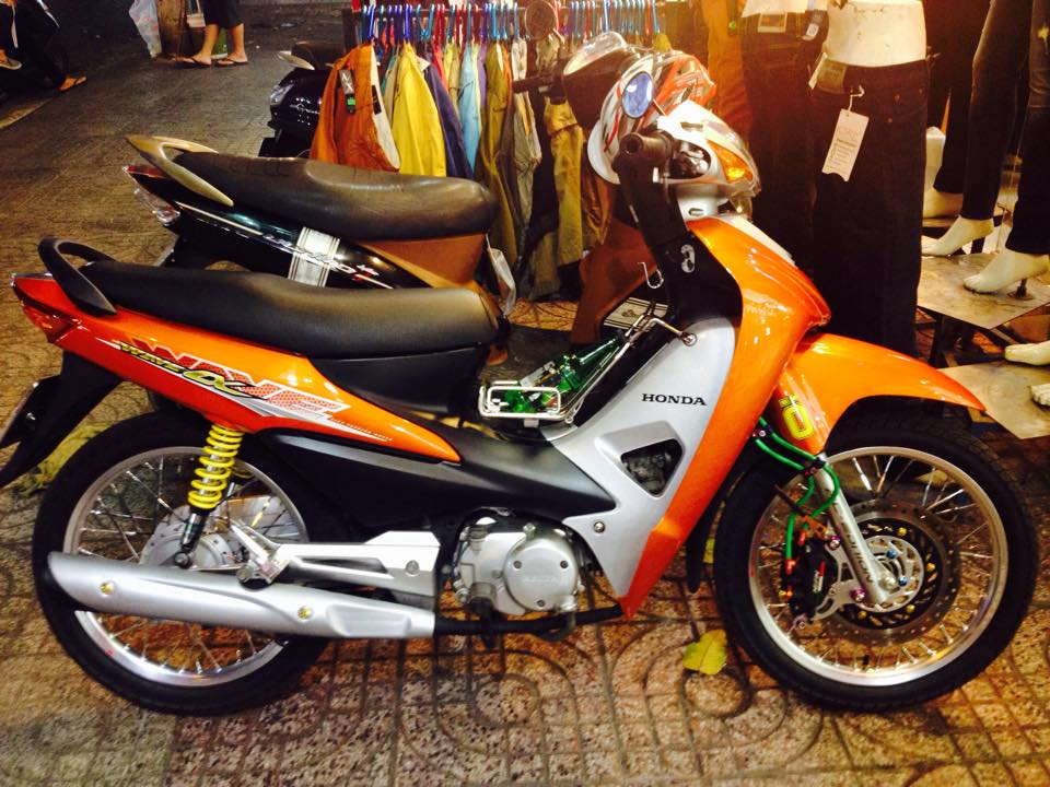 Wave RS 2008 do phong cach the thao