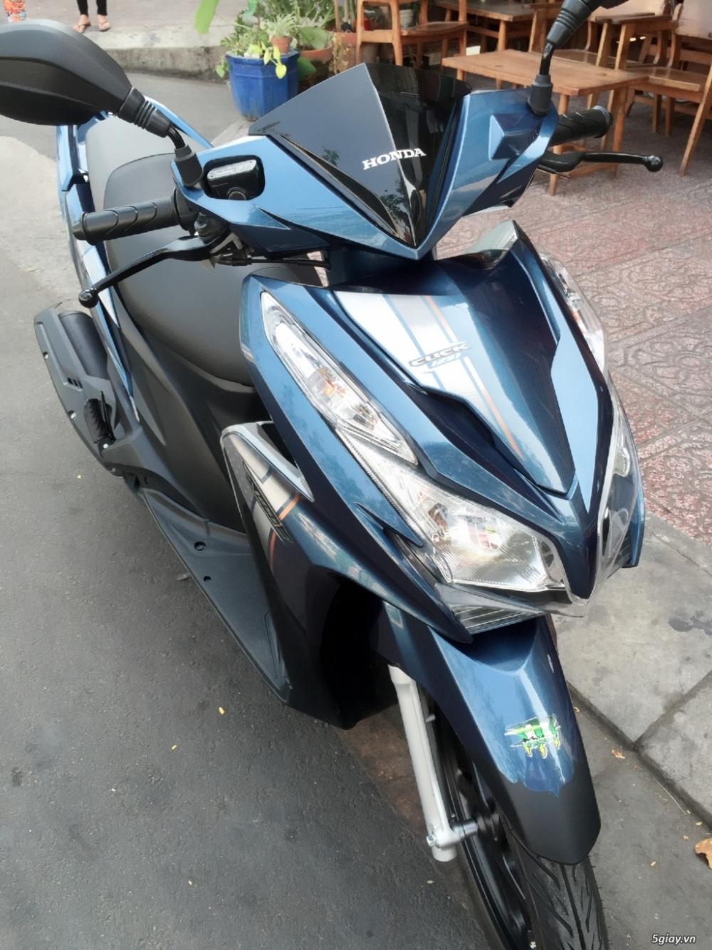 Xe Click Thai 125 mau xanh dk 82015 moi 95