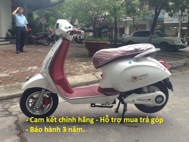 xe may dien vespa autosun milan nhap khau gia re Ha Noi Moi 100 bao hanh 3 nam - 5