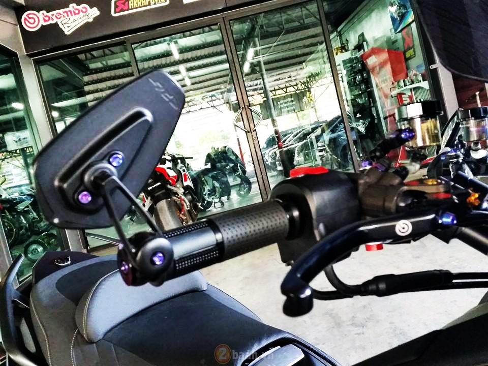 Yamaha TMax voi phien ban do khung tu JC Superbike - 3