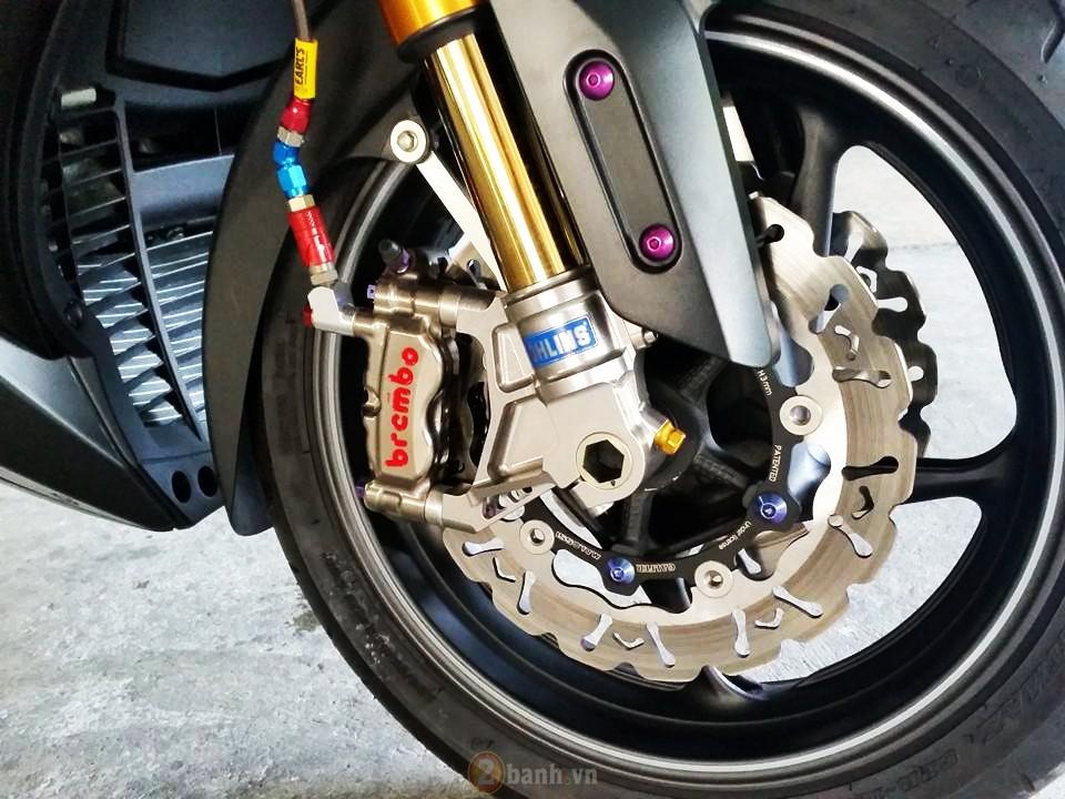 Yamaha TMax voi phien ban do khung tu JC Superbike - 7