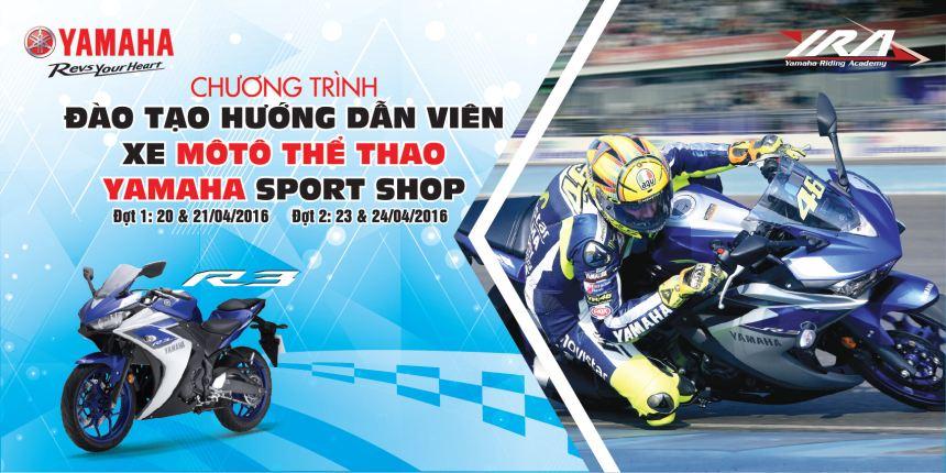 Yamha mo chuong trinh huong dan lai Yamaha R3