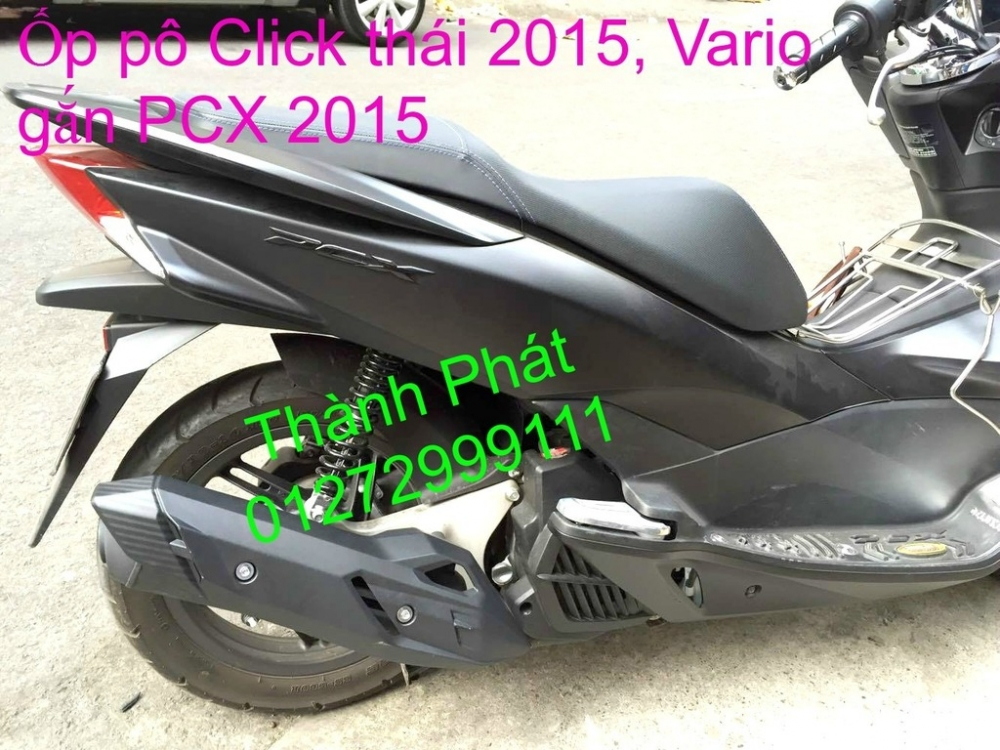 Chuyen Phu tung Zin Honda PCX Thailan va VN doi 2011 doi 2014 day du het do mu va do may Gia tot u - 46