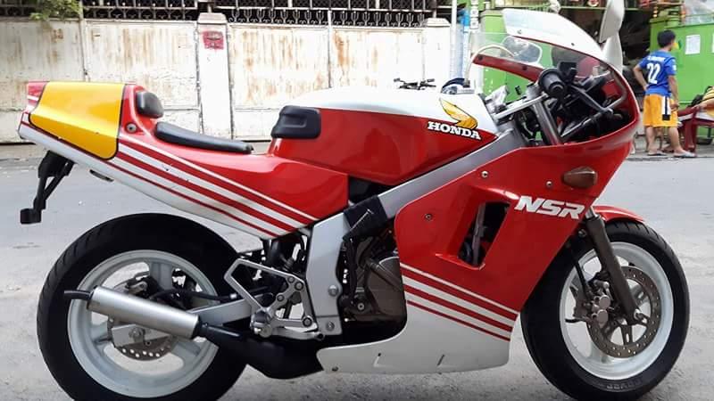 Cung ngam nhin chiec Honda NSR 50cc ben xu Cam