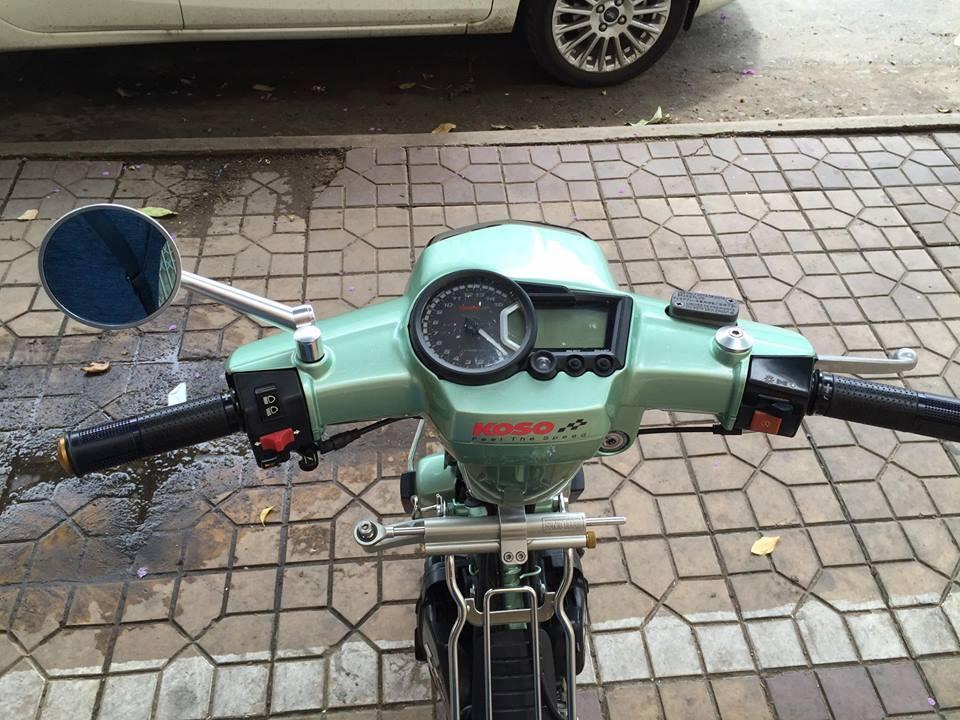 Honda Dream do day phong cach khi don gan nhu full option - 3