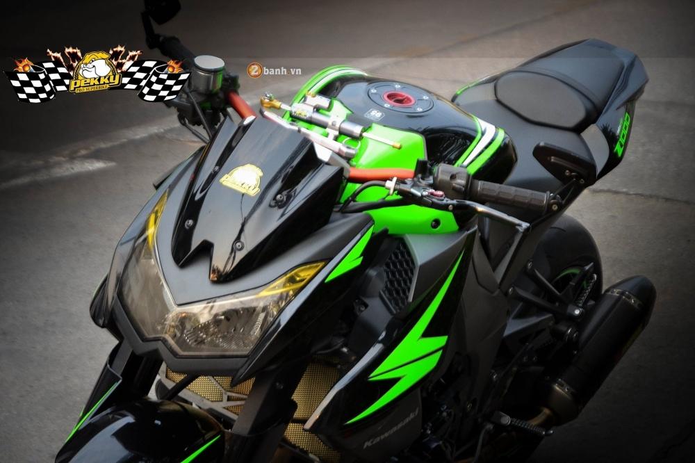 Kawasaki Z1000 day an tuong voi ban do don gian va phong cach - 3