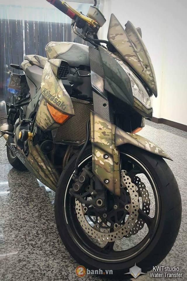 Kawasaki Z1000 do sieu ngau voi phong cach nha binh - 5