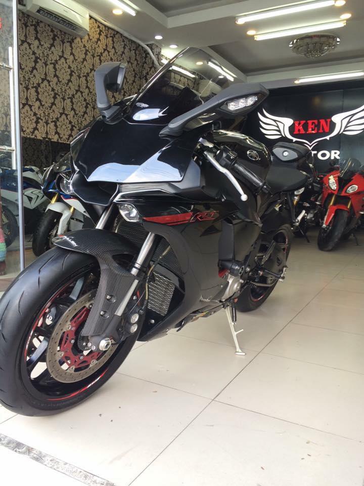 Can ban Yamaha YZR1 chau au ABS 2015 ABSHQCNodo 4068kmgia tot cho ACE mau le - 8